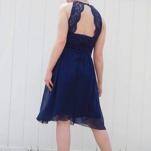 Blue Le Chateau Dress